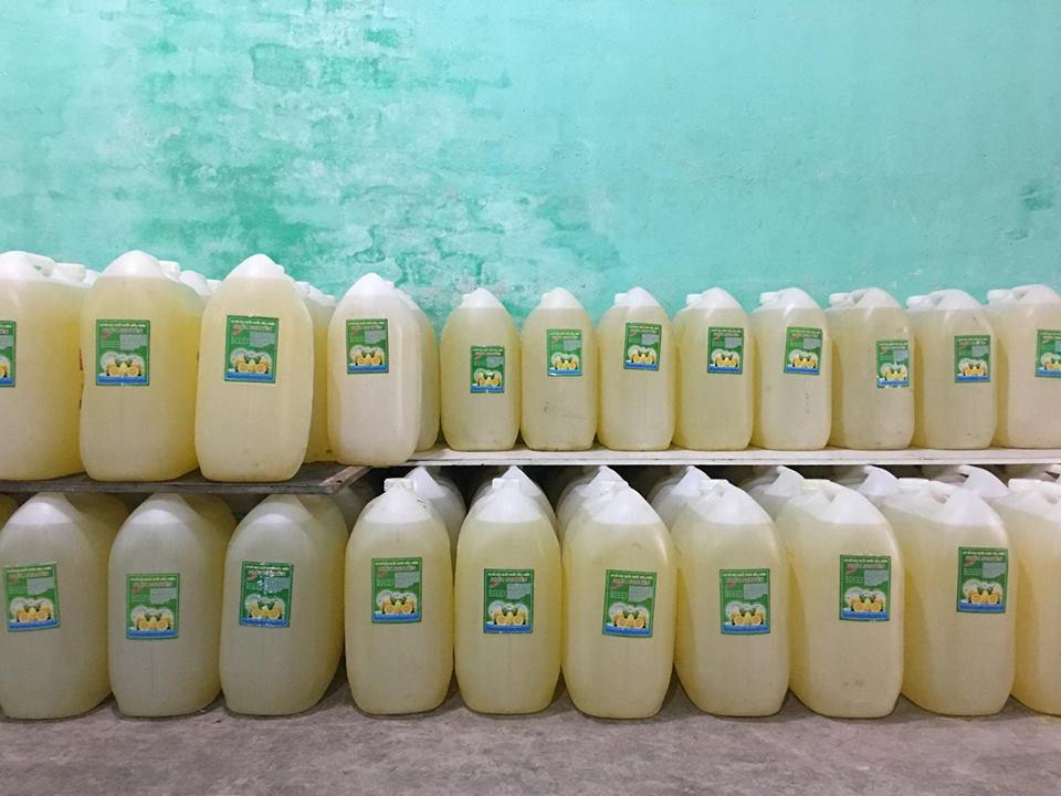 Phúc Nguyên cung cấp nước rửa chén số lượng lớn