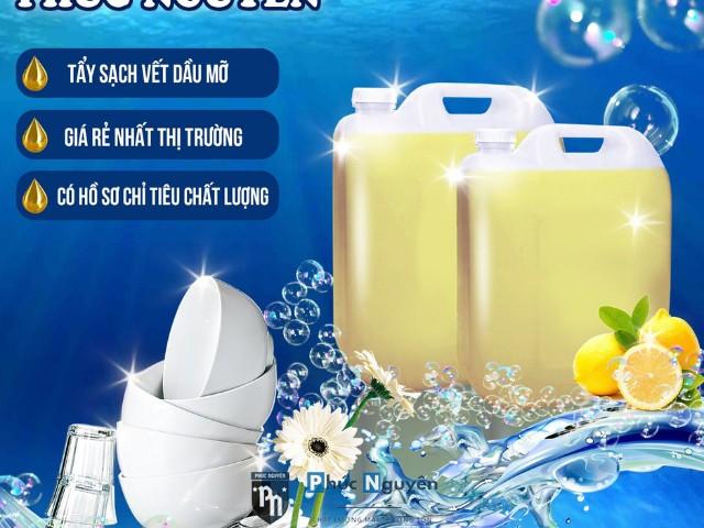 Nước rửa chén lít, Nước rửa chén lít chuyên dùng, Can nước rửa chén lít, Mua nước rửa chén lít, Công ty TNHH hóa chất Phúc Nguyên, Địa chỉ chuyên bán nước rửa chén lít, Nước rửa chén lít chất lượng